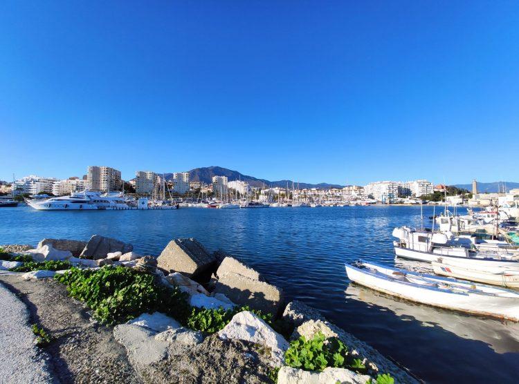 boats in estepona port